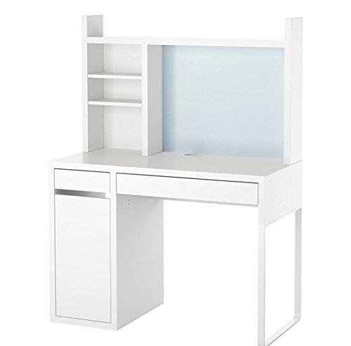 ZigZag Trading Ltd IKEA MICKE - Postazione di lavoro, colore: Bianco