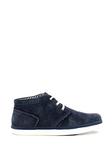 CAFèNOIR - Zapatos de Cordones para Hombre Azul Azul 43