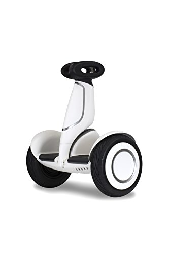 Segway Mini-plus Smart Self Balancing Personal Transporter with Remote Control/Mobile App Customization, White