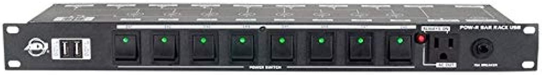 American DJ Pow-R Rack USB AC Power Center