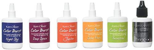 Ken Oliver Color Burst Powder, Multicolor