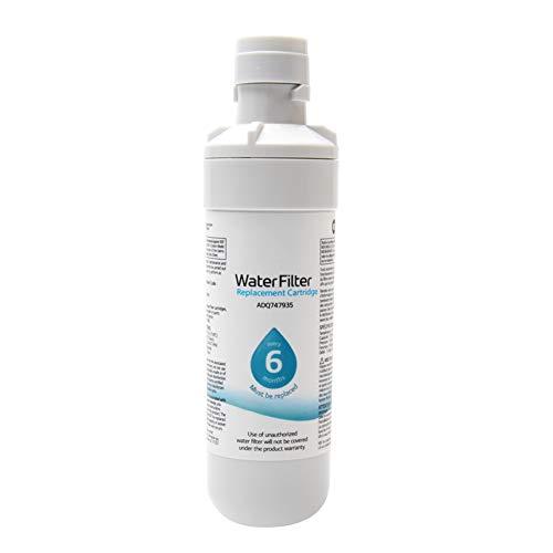 OSISTER7 Filtro de agua del refrigerador LT1000P, filtro de agua casero reemplazable del refrigerador para Kenmore9980