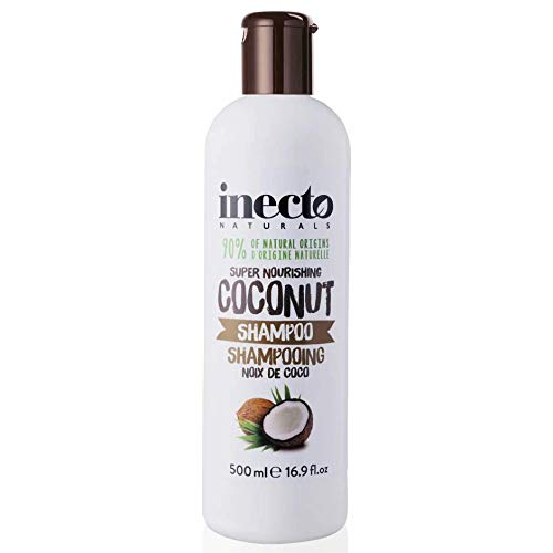 Inecto Naturals Shampoo Coconut, 1er Pack (1 x 500 ml), 5012008592505
