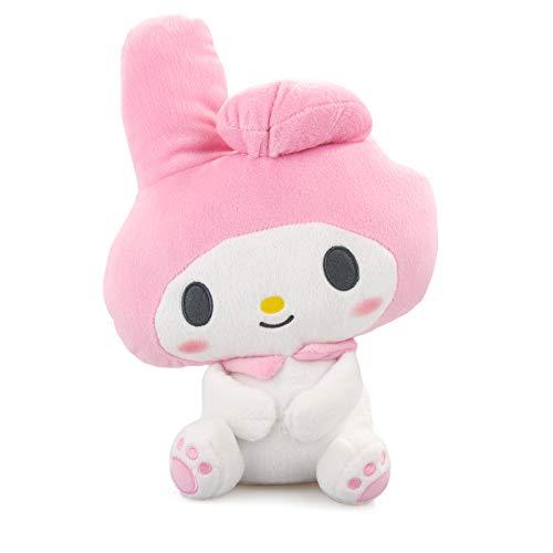 My Melody Pinke Figur Kuromi- Hello Kitty´s Friends Kawaii Plüsch Plüschtier Plüschfigur Plüschi XXL Kuscheltier Katze Hase als Geschenk für Weihnachten oder Geburtstag Kinder