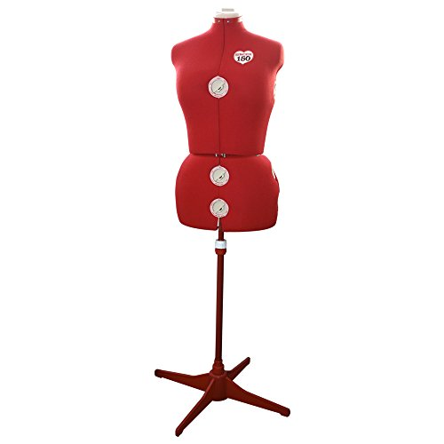 Singer DF150 - Maniquí de costura adjustable mediano, Talla