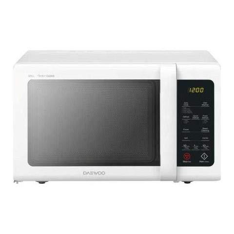 Daewoo KQG‐81RW forno a microonde Piano di lavoro Microonde combinato 23 L 800 W Nero, Bianco