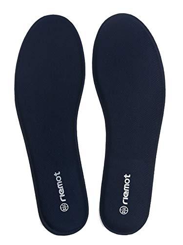 riemot Plantillas Memory Foam para Zapatos de Hombre y Mujer, Plantillas para Zapatillas Botas, Cómodas y Amortiguación para Trabajo, Deportes, Caminar, Senderismo Azul Armada 46 EU