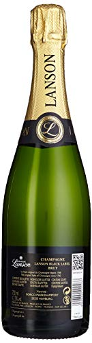 Lanson Black Lable Brut Champagne in Geschenkhülle (1 x 0.75 l) - 3
