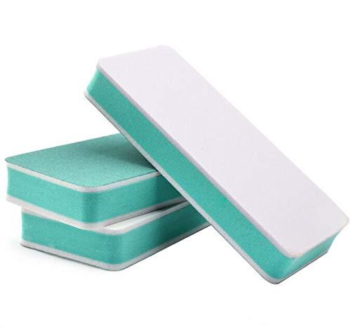 PROFICO Nagelpolierer Schleifblock | 2 Feil- und Polierflächen | Nagelpolierblock Nagelblock Buffer für Manicüre (5 Stück)