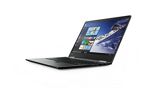 Lenovo Yoga 710 35,56cm (14 Zoll Full HD IPS) Slim Convertible Laptop (Intel Core i5-7200U, 8GB RAM, 256GB SSD, Intel HD Grafik 620, Windows 10 Home) schwarz