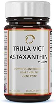 TRULA VICT Denver Mall Astaxanthin Store Capsule 50mg 60 Premium Pills. Antioxida