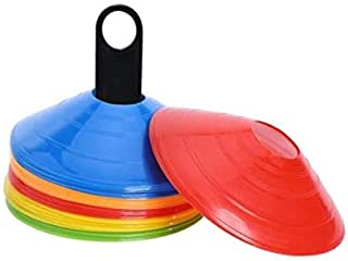 Dorsa Training Agility Cones, 50 pieces- Mix Color, Other, Multicolor