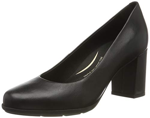 Geox Womens D New Annya A Pump, Schwarz (Black C9997), 38,5 EU
