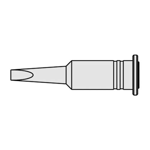 Ersa 0G132AN/SB Lötspitze für Independent 130, Gerade, Vernickelt, Meißelförmig, 3.2mm