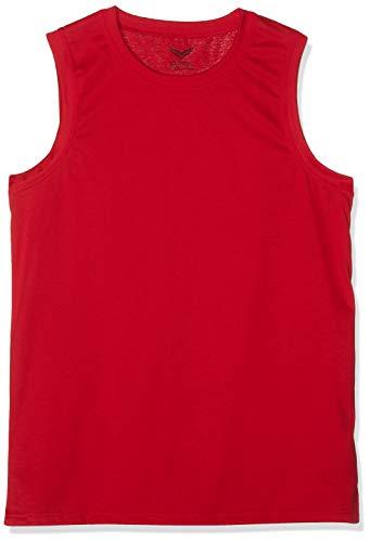 Trigema Herren 636404 Top, Rot (Kirsch 036), XXXX-Large (Herstellergröße: 4XL)