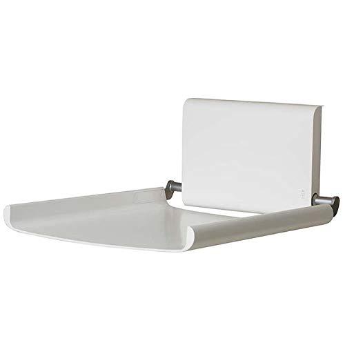 Dan Dryer Björk Wickeltisch zur Wandmontage erhältlich in Weiß und Schwarz, Farbe:Weiß