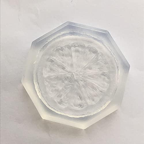 〈UVクラフトレジン〉 (S190)シリコンモールド スライスオレンジ 特大サイズ みかん ミカン 果物 フルーツ スイーツ 食玩 フェイクフード ミニチュア UV LEDレジンや樹脂粘土に