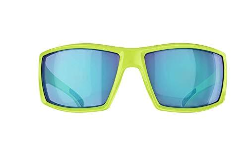 Bliz Unisex's 54605-13 Drift' Sport-Sonnenbrille, Grün, Schwarz, Regular