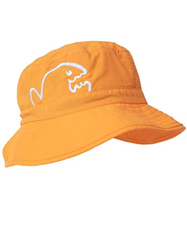 iQ-UV Kinder Kids Bucket Hat Bites Sonnenhut, orange, 50-55cm