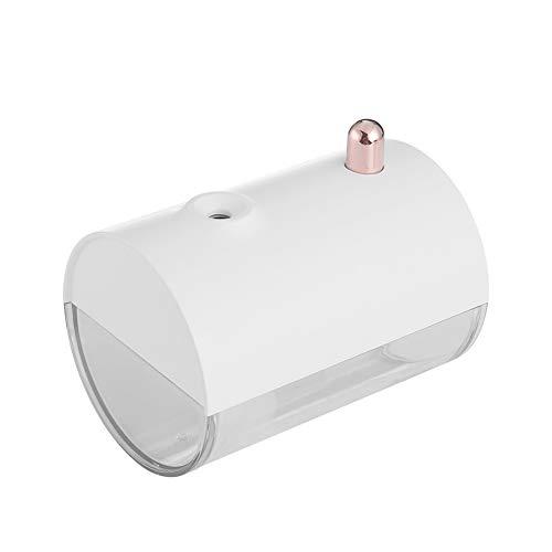 QAQWER Aroma-luchtbevochtiger, Creative Boat luchtbevochtiger, 250 ml, draagbare kleine USB-ultrasone luchtreiniger voor stille lucht, babykamer, auto's, huis, kantoor, droge omgeving