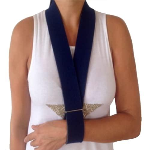 Cabestrillo de brazo de tira, Inmovilizado de correa de soporte Grado Medico, talla universal