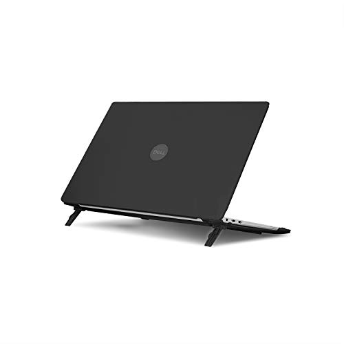 mCover Hard Shell Case for 13.3' Dell XPS 13 9370 (2018) 9380 (2019) / 7390 (Oct. 2019, non-2in1) Models (not Fitting Older L321X 9333 9343 9350 9360 9365) Ultrabook Laptop - DL-XPS13-9370 Black
