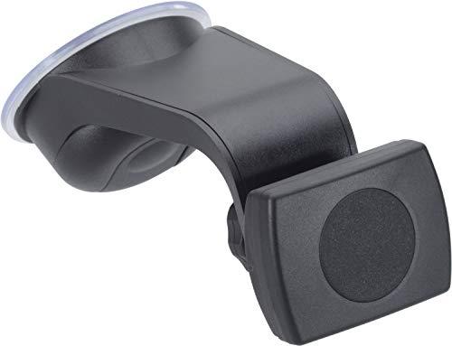 HR GRIP Smartphonehalter HRX Mount Magnet-Tec mit Saugnapf für die Windschutzscheibe [5 Jahre Garantie | Made in Germany | 360 Grad drehbar | Inklusive Conector-Adapter] - 22012111