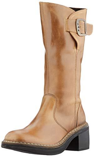FLY London Damen ERIS050FLY Halblange Stiefel, Camel, 38 EU
