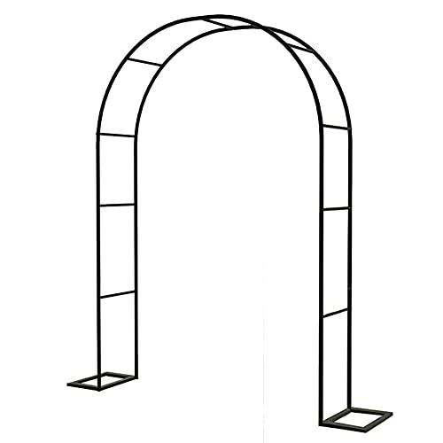 YYHJ Arcos de jardín,Rosales Arco de Boda,Enredaderas pergolas Exterior,para Rosales y Plantas trepadoras de Metal pulverisado