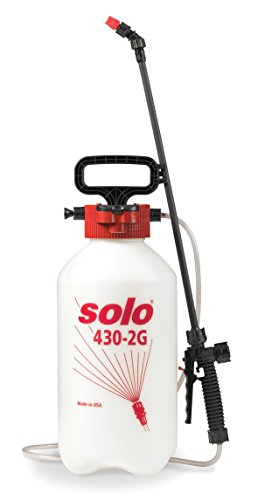 Solo 430-2G 2-Gallon Farm and Garden Sprayer with Nozzle Tips for Multiple Spraying Needs