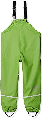 Sterntaler Jungen Regenträgerhose gefüttert Regenhose, Grün (Grün 254), 65 (Herstellergröße: 80)