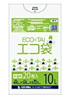 ゴミ袋 10L 400x500x0.025厚 半透明 20枚x50冊/箱 LLDPE素材 (半透明, 厚さ0.025mm)