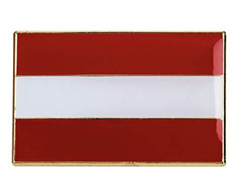 Patch Nation Groot Oostenrijk Oostenrijkse vlag metalen pin badge broche