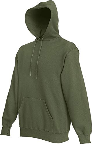 Ugsgdhgsdd Hooded Sweat,Green - Classic Olive,M