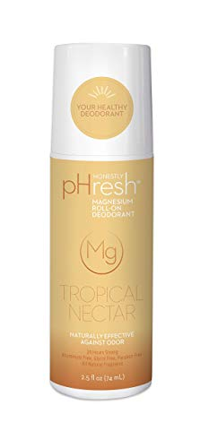 Honestly pHresh Magnesium Roll-On Deodorant, Tropical Nectar