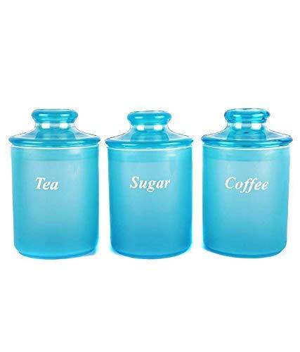 Laplast - 100059 Plastic Air Tight Container, 1-Litre, Set of 3, Blue