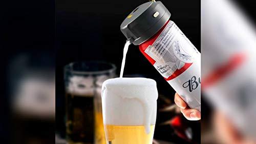 Youpin XiaMi STARCOMPASS Máquina de espuma de cerveza ultrasónica eléctrica para cerveza, uso especial para cerveza embotellada y cerveza enlatada (para enlatada)