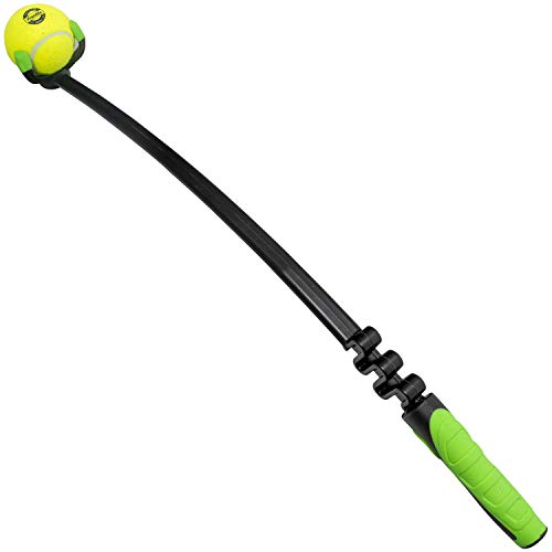 Franklin Pet Supply Dog Fetch Toy – Tennis Ball Launcher – Play Fetch with Your Dog – Dog Ball Launcher