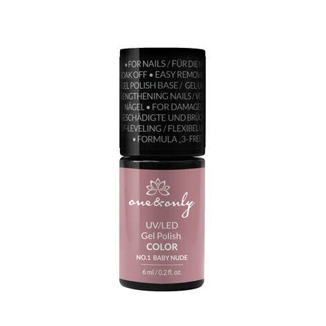 One&Only UV/LED Gel Nail Polish COLOR, Hybrid, Easy Removal, 6 ml, Hard & Long Nails Numéro et nom de la couleur, hautement pigmenté, couverture idéal
