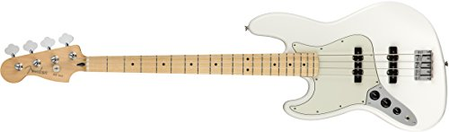 Fender Player Jazz Bass MN Polar White LH Bajo Eléctrico Zurdos