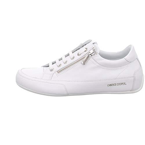 Candice Cooper Damen R.Deluxe Zip Oxford-Schuh, Bianco, 40 EU