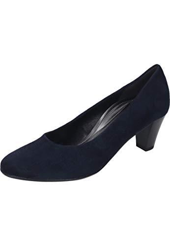 Gabor Comfort Basic Pumps in Übergrößen Blau 26.170.16 große Damenschuhe, Größe:42