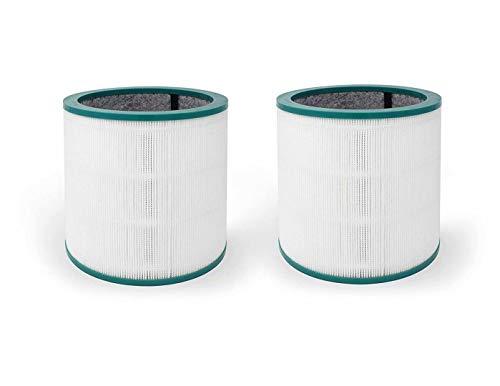 FBSHOP(TM)) - Pack de 2 filtros de Repuesto compatibles con Dyson Pure Cool Link y Dyson Tower Purifier TP02 y TP03, Aproximadamente 7,5 (para 1ª y 2ª generación), Parte # 968126-03