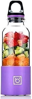 Hefacy Baibao Mélangeur électrique portable 500 ml Chargement USB (vert, rouge, rose, bleu, violet)