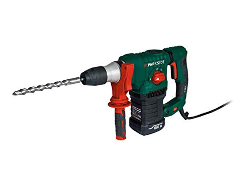 Parkside 1500w SDS-Plus Hammer Drill PBH 1500 F6 Complete with Carry case and Accessories. Comes with UK Plug