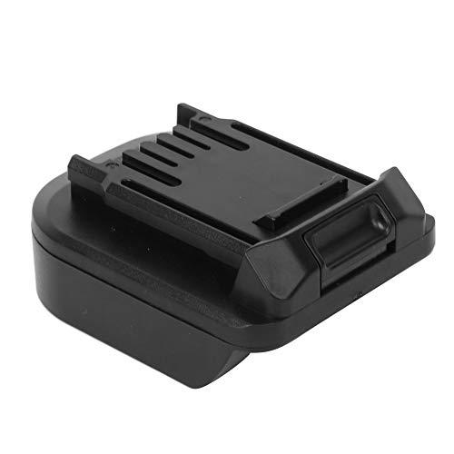 Adaptador de batería de 18 V, Puerto USB Integrado de 5 V, moldeo por inyección, batería de Herramienta eléctrica para batería de pie Grande