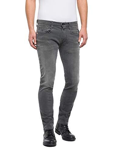 REPLAY Hyperflex Plus Slim Fit Jeans Gris