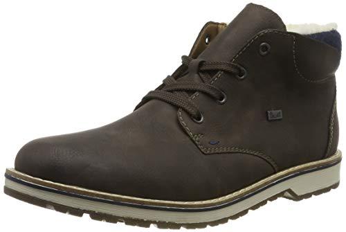 Rieker Herren 39211 Klassische Stiefel, Braun (Moro/Navy 25), 45 EU