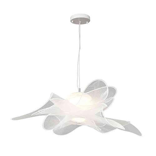 Elegante lámpara colgante acrílico 15w creativo techo colgado luz moderno araña lámpara de araña Diámetro 28.7 pulgadas medio montaje en descarga iluminación iluminación accesorios para sala de estar