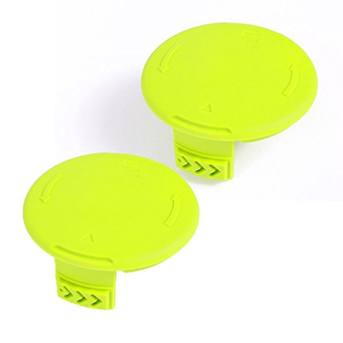 Greenworks 3411546A-6 Pack of 2 40 Volt String Trimmer OEM Replacement Spool Covers